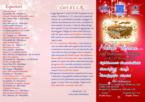 Natale insieme misterbianco for Catalogo bricoman misterbianco