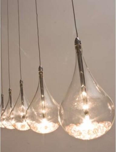 Lampadario A Gocce Moderno.Lampadario Gocce Moderno Idea Immagine Home