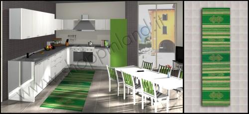Tappeto Per La Cucina In Stile Etnico 120 X 180