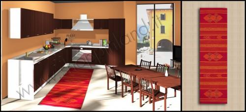 Tappeto Per La Cucina In Stile Etnico 55 X 240 Tronzano