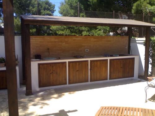 Sportelli x cucina in muratura esterna cinisi for Ante cucina in muratura