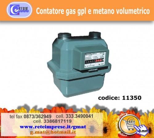 Contatore gas gpl e metano volumetrico vasto for Taroccare contatore gas metano