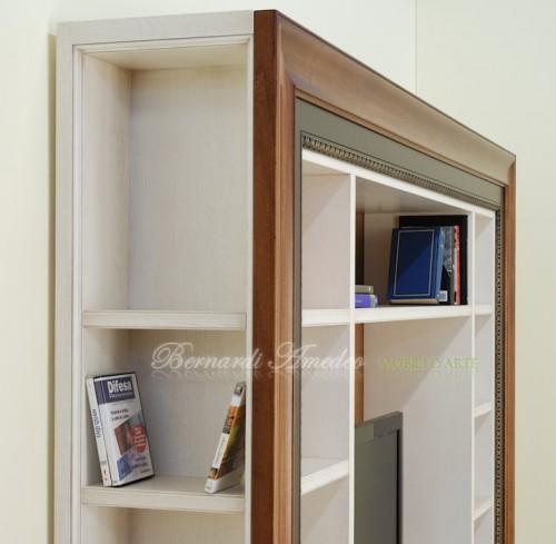 Libreria porta Tv con cornice : (Ros?)
