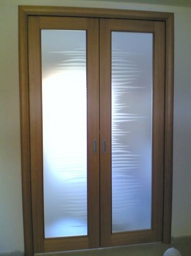 Porte intere a battente, scorrevoli interno ed esterno muro, a libro : (Bisce...