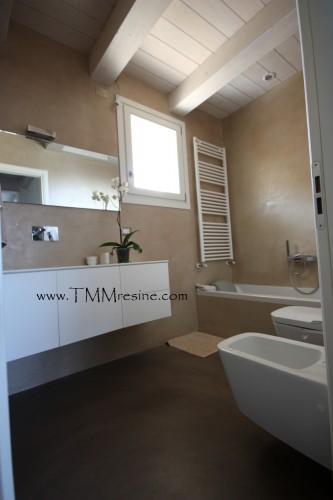 Bagni in resina faenza - Rivestimenti bagno resina ...