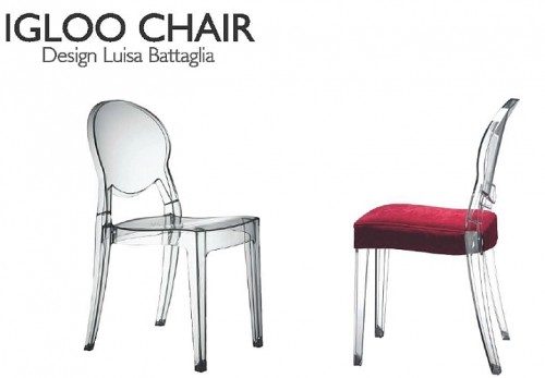 Sedie trasparenti design excellent sedie moderne in with - Sedia trasparente ikea ...