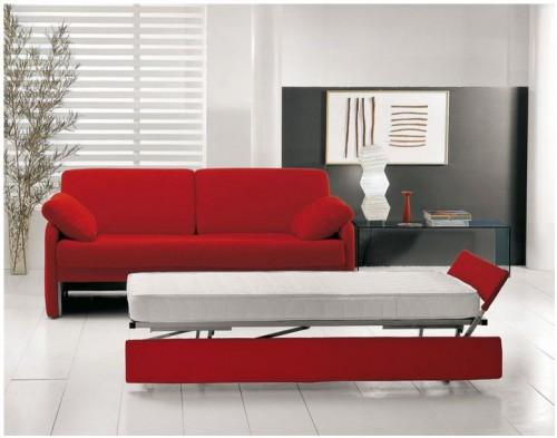 Divano letto con secondo letto estraibile misano adriatico - Letto con letto estraibile ...