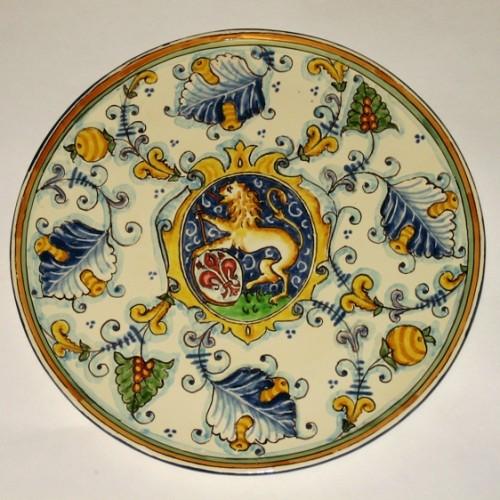 Piatti decorati in ceramica campi bisenzio for Piatti decorati