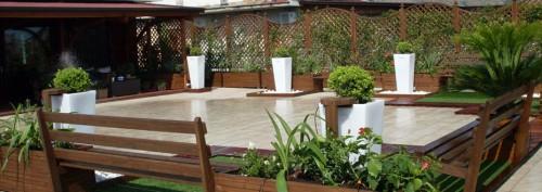 pannelli grigliati per giardini e terrazze napoli