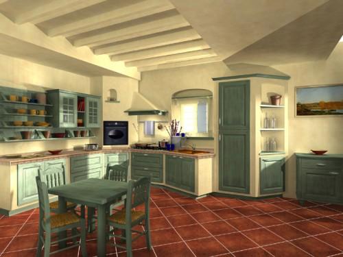 Cucine in muratura roma ariccia - Progettazione cucine on line ...