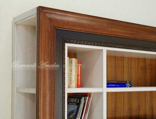 Libreria porta tv con cornice ros for Cornice adesiva per pareti