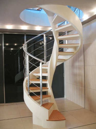 Scale in design mazara del vallo - Scale a chiocciola in cemento prefabbricate ...