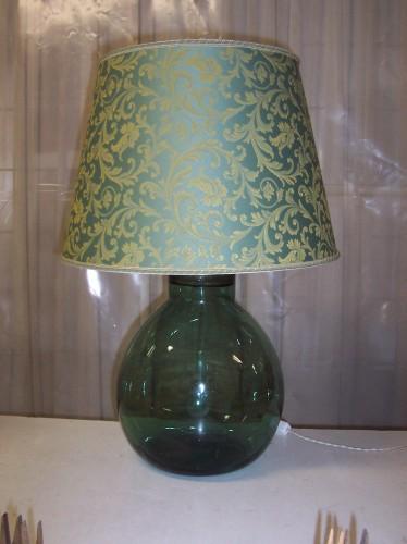 Creazione lampada da damigiana soffiata a mano pelago for Costo lampada
