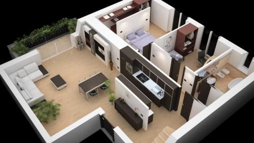 Planimetrie tridimensionali legnano for Planimetrie di case personalizzate