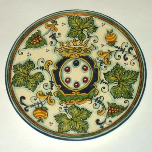 Piatti in ceramica decorati campi bisenzio for Piatti decorati