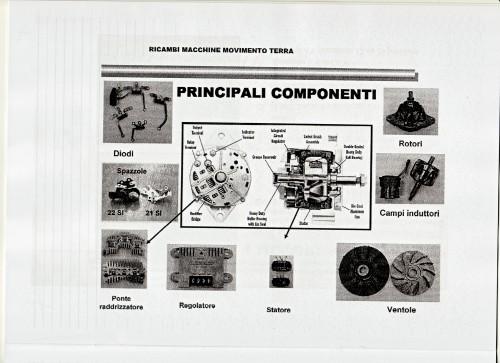 Ricambi macchine movimento terra principali componenti for Catalogo bricoman misterbianco