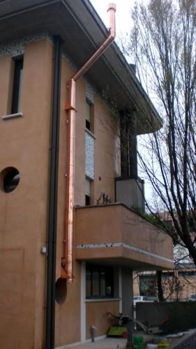 Canna fumaria pizzeria bertinoro for Installazione di condotte idriche in rame