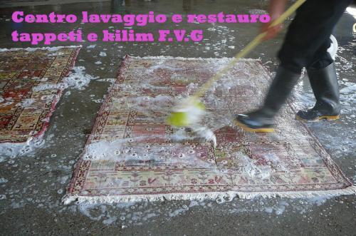 Lavaggio tappeti persiani Gorizia, pulizia professionale : (Udine)