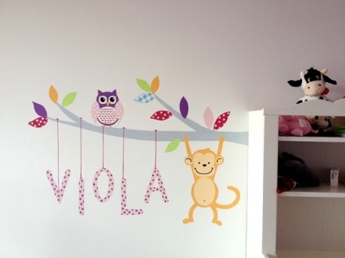 stencil decorativi per pareti: stencil cameretta decoupage ... - Decorazioni Per Pareti Interne