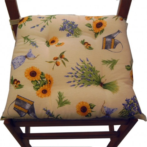 Cuscino sedia provenza lavanda bollengo - Cuscini per sedie cucina ...