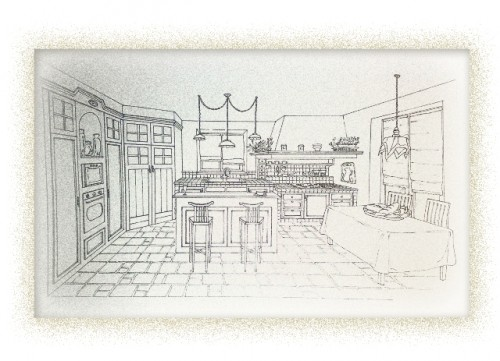 Cucina cucina muratura progetto - Progetti cucina in muratura ...
