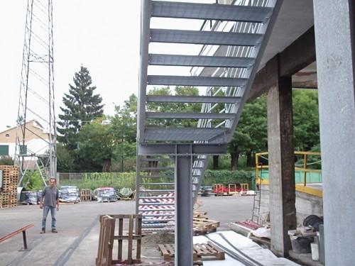 Scala di sicurezza esterna morsasco - Foto scale esterne ...