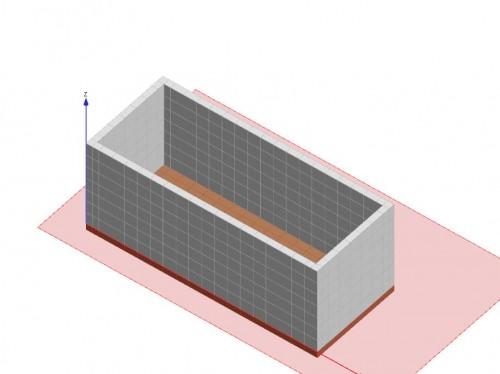 Progetto di vasca interrata per alloggiamento serbatoio - Vasca interrata ...