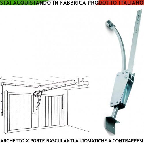 Archetto Universale x Automatismo di Porte Basculanti 60/120 KG : (Roma)