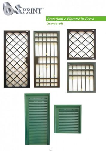 Protezioni e finestre in ferro scorrevoli scisciano - Protezioni per finestre ...