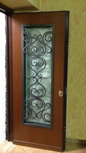 Porte con vetro colleferro - Paletto porta blindata ...
