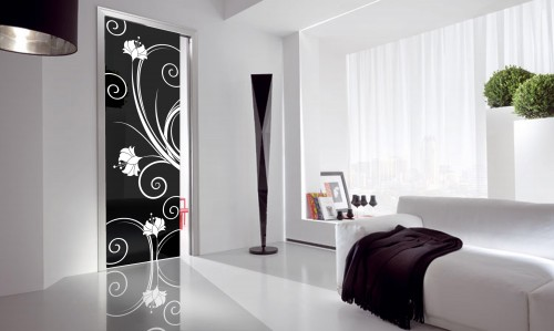 Bellinvetro corleone - Porte decorate per interni ...