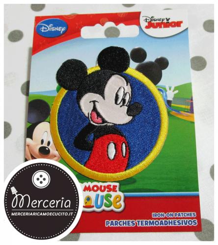 Applicazione termoadesiva Topolino Mickey Mouse 3