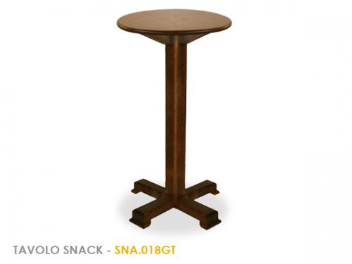 Tavoli Alti Legno : Tavolo in legno in arte povera con piantana centrale in legno h