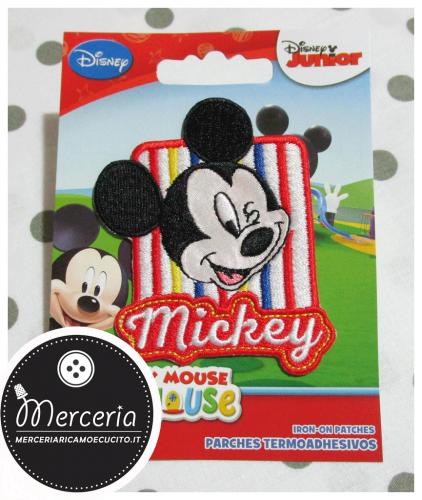 Applicazione termoadesiva Topolino Mickey Mouse 4