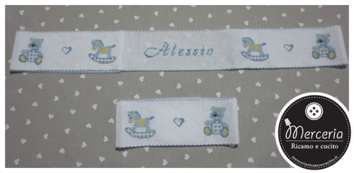 Bordura per lenzuolino personalizzata