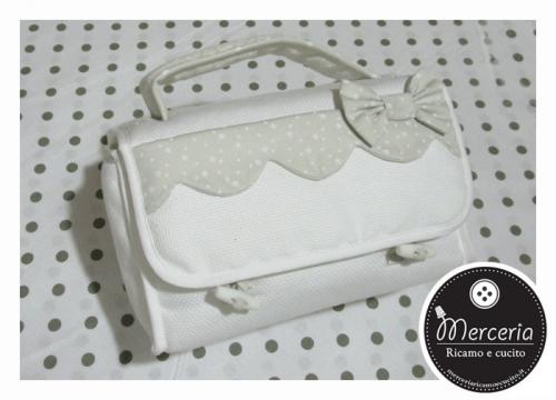 Beauty case Sweet Little Stars - Tortora