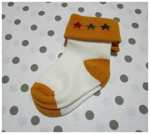 Calzini per neonato con stelline