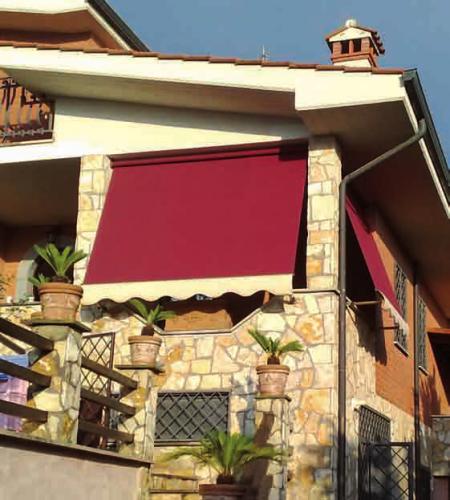 Tenda da sole per terrazzi e balconi - modello base 1 : (Roma)