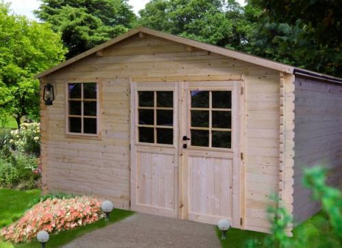 Casetta di legno 400x300cm spessore 34 mm lamezia terme for Offerte casette in legno