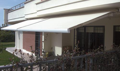 Tende Da Balcone Roma : Tenda a bracci su barra quadra vendita roma roma