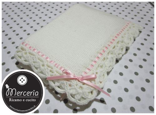 Copertina in lana per neonato (cope 5)