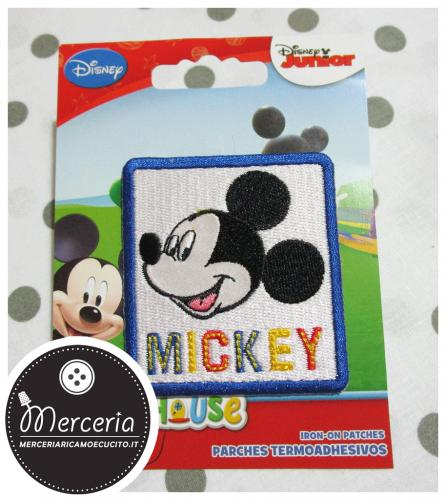 Applicazione termoadesiva Topolino Mickey Mouse 7