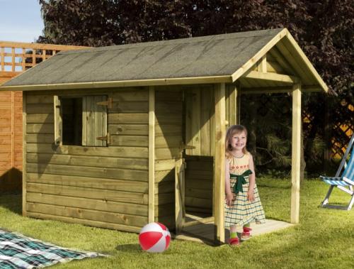 Casetta di legno per bambini 243x148 cm lamezia terme - Casetta da giardino per bambini usata ...