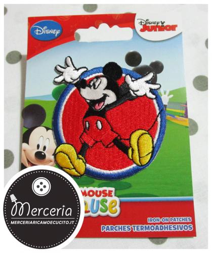 Applicazione termoadesiva Topolino Mickey Mouse 6