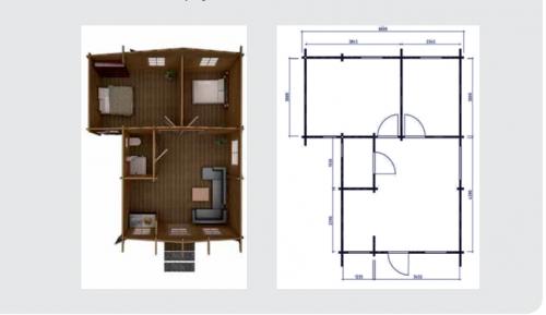 Casa in legno 50 mq lamezia terme for Casa in legno 25 mq