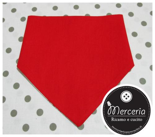 Bavetta bandana rossa