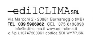 Logo Edilclima di Novellino Mirko