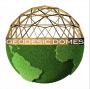 Logo Geodesic Domes di Alessandro Perziano
