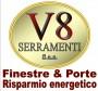 Logo V8 Serramenti S.a.s. Brescia