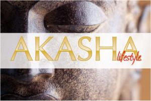 Logo Akasha Events, Ambient Event&Wedding di Paola Fumagalli
